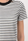 STRIPES - zweifarbiges T-Shirt