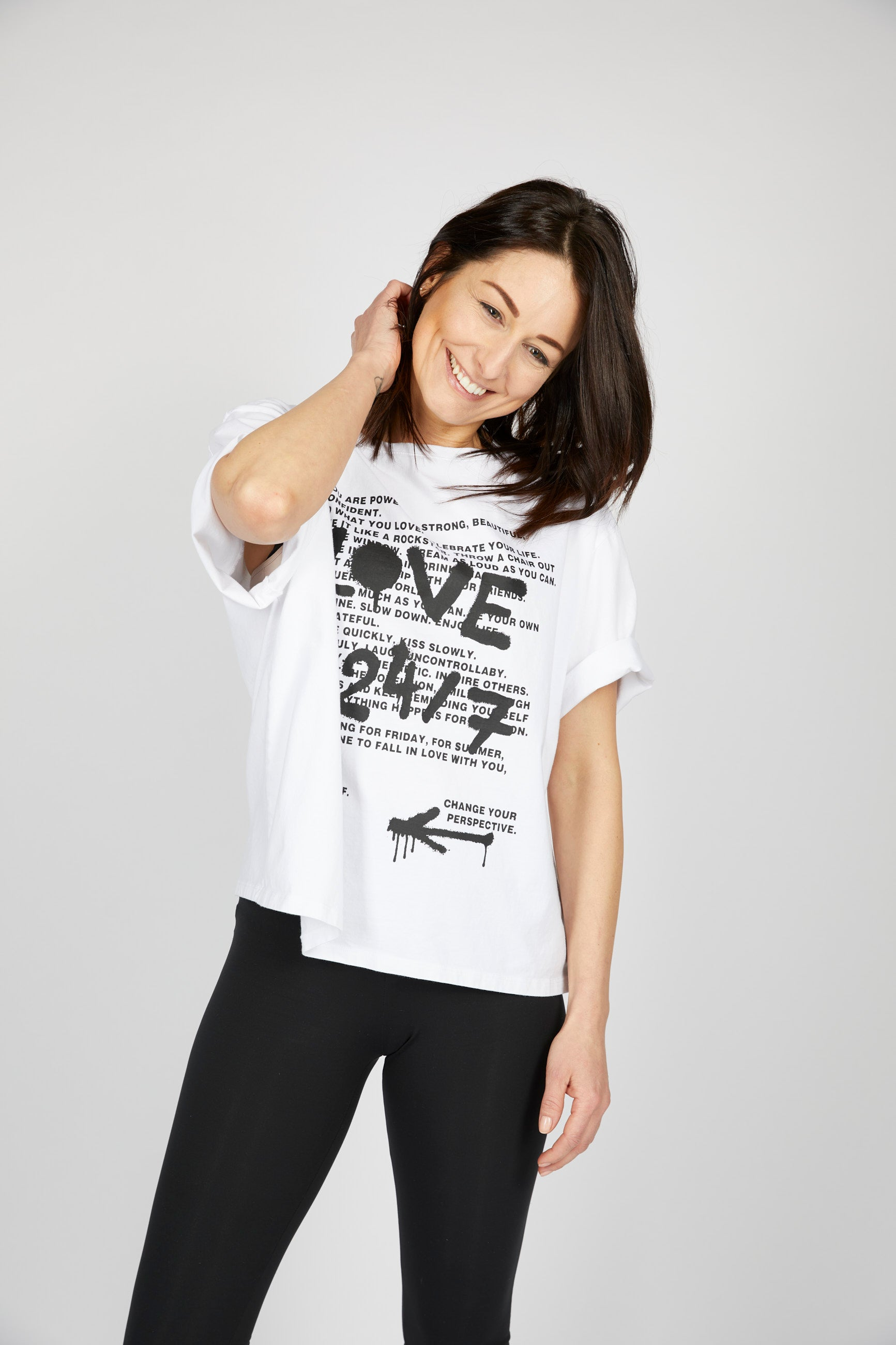 LOVE - T-Shirt BIOBAUMWOLLE