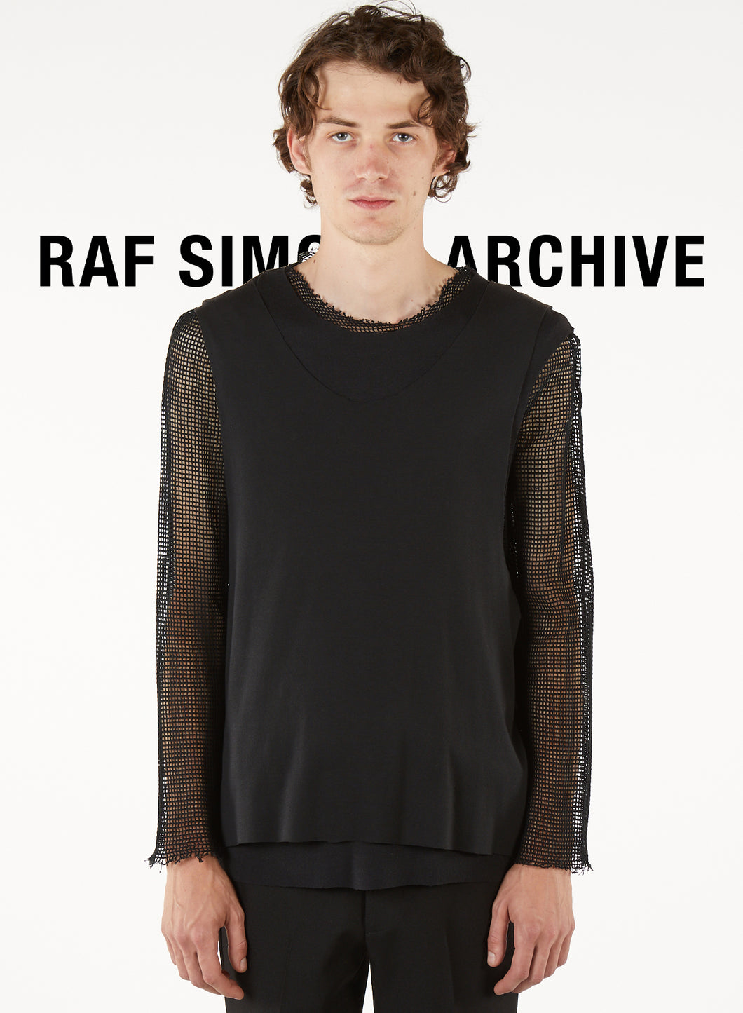 Raf Simons ARCHIVE REDUX long sleeved t-shirt