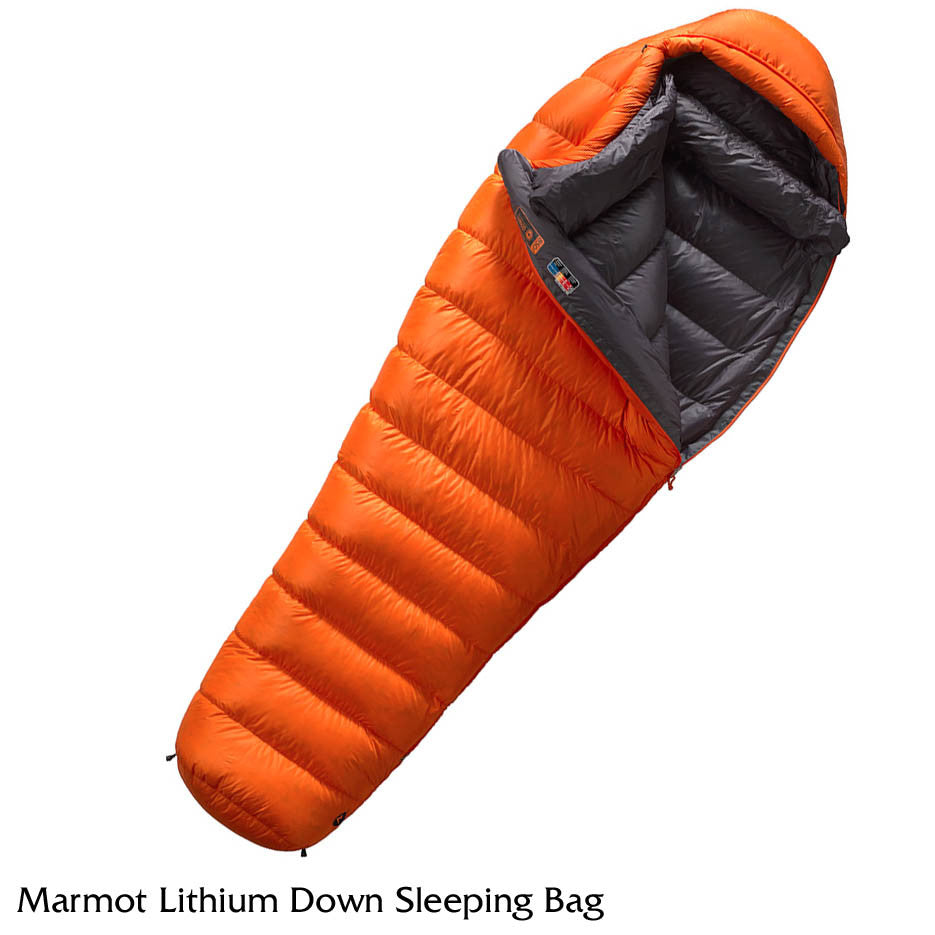 new product 77dd2 790fc Marmot Lithium Down Sleeping Bag - 0 Degree