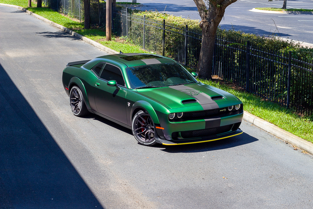 2020 Dodge Challenger Custom Wrap Supreme Wraps Fl