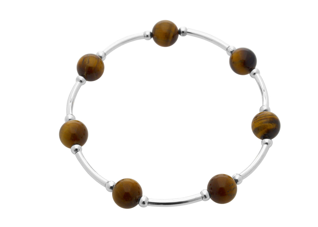 Blessing Bracelet Tigers Eye Gemstone 8MM