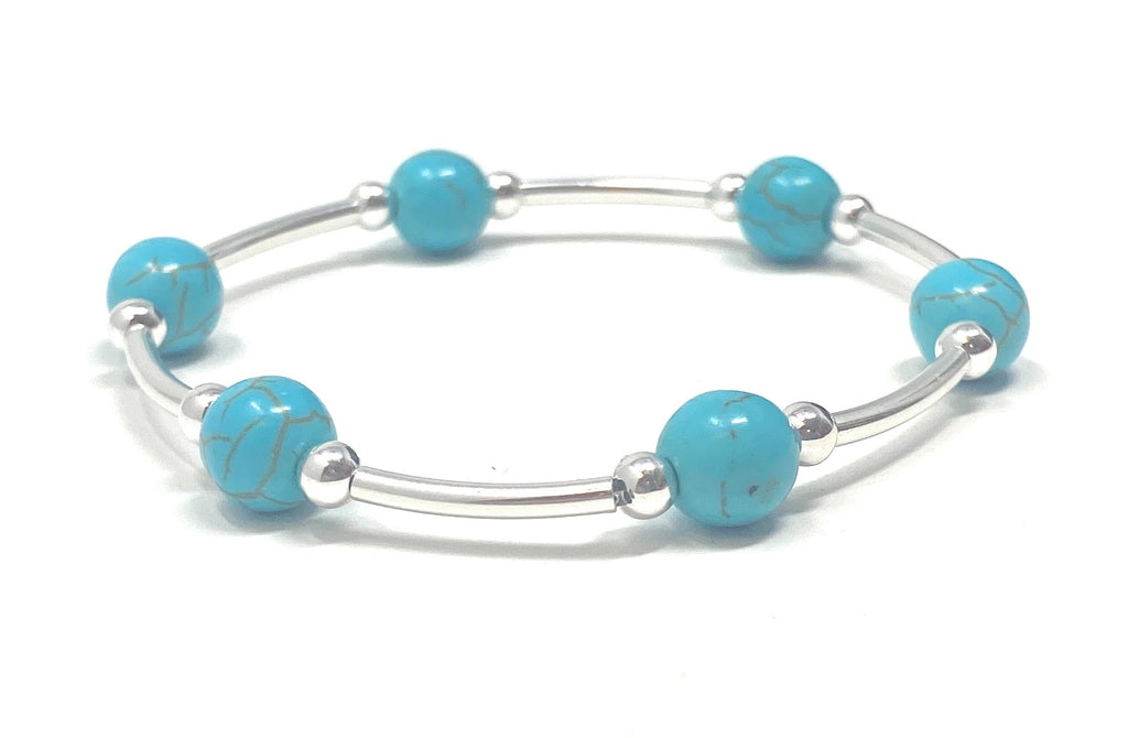 Count Your Blessings Bracelet Turquoise, Smaller Size