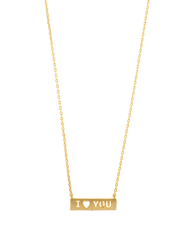Count Your Blessings Necklace, I LOVE YOU