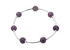 Count Your Blessings Amethyst Gemstone Bracelet
