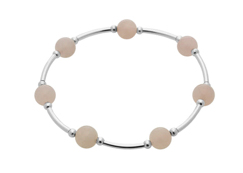 Blessing Bracelet Rose Quartz Gemstone 8MM