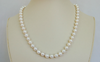 Count Your Blessings Pearl Hand Knotted Necklace 18""