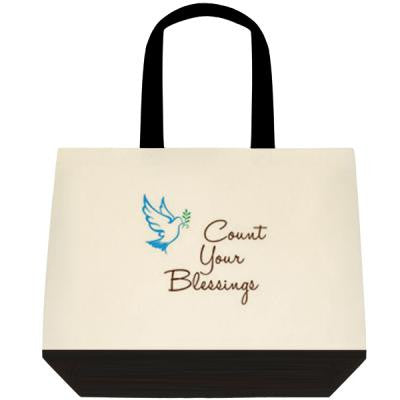 Count Your Blessings Canvas Tote Bag