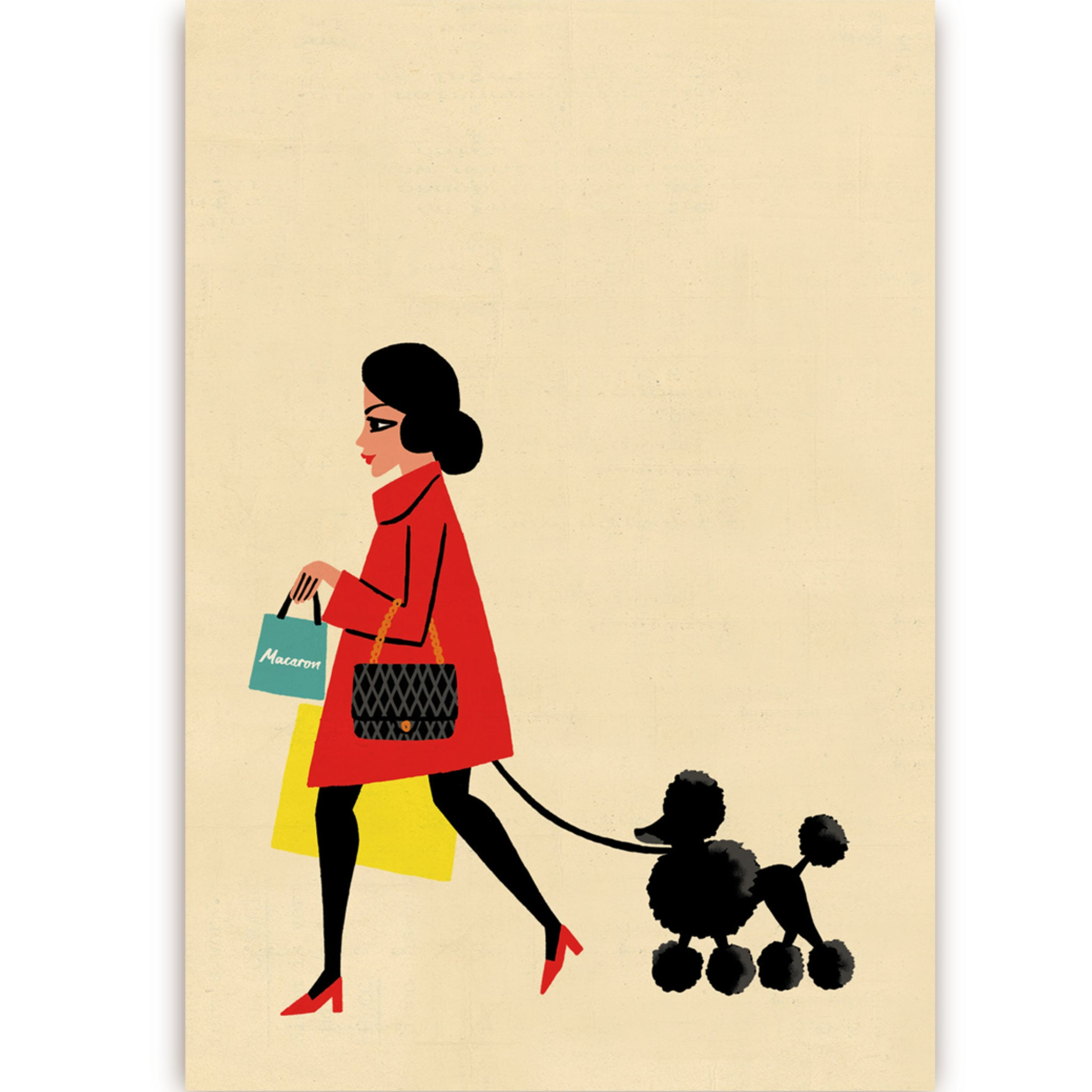 Parisienne and Poodle