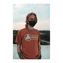 "Load image into Gallery viewer, ""Orange Logo Tee"""