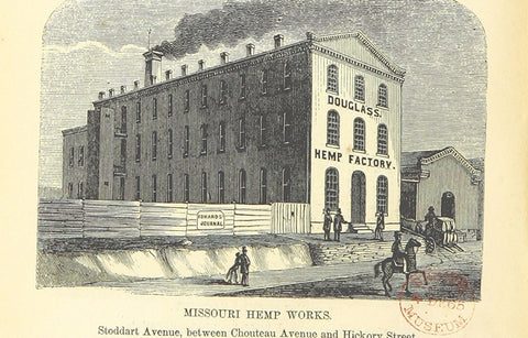An old Hemp factory from 200 years ago