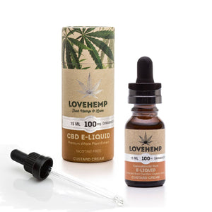 Love Hemp® CBD E-Liquid - 100mg CBD - 15ml