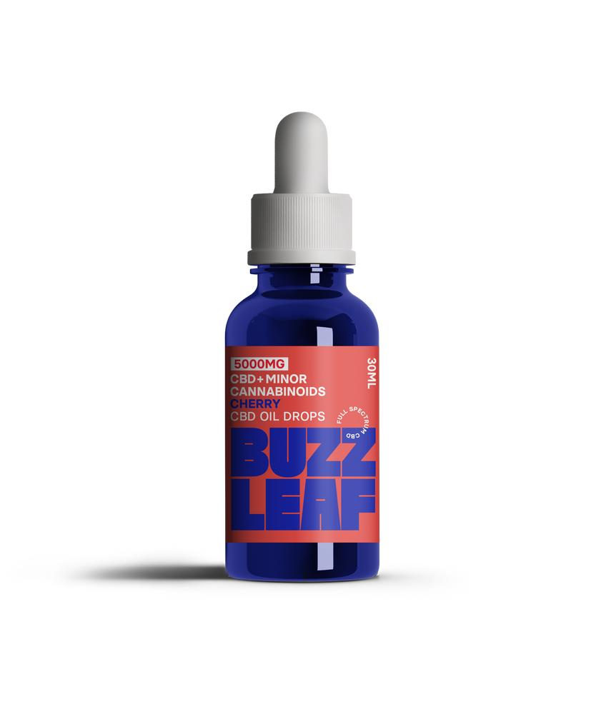 Buzz Leaf® 5000mg CBD Oil – 30ml