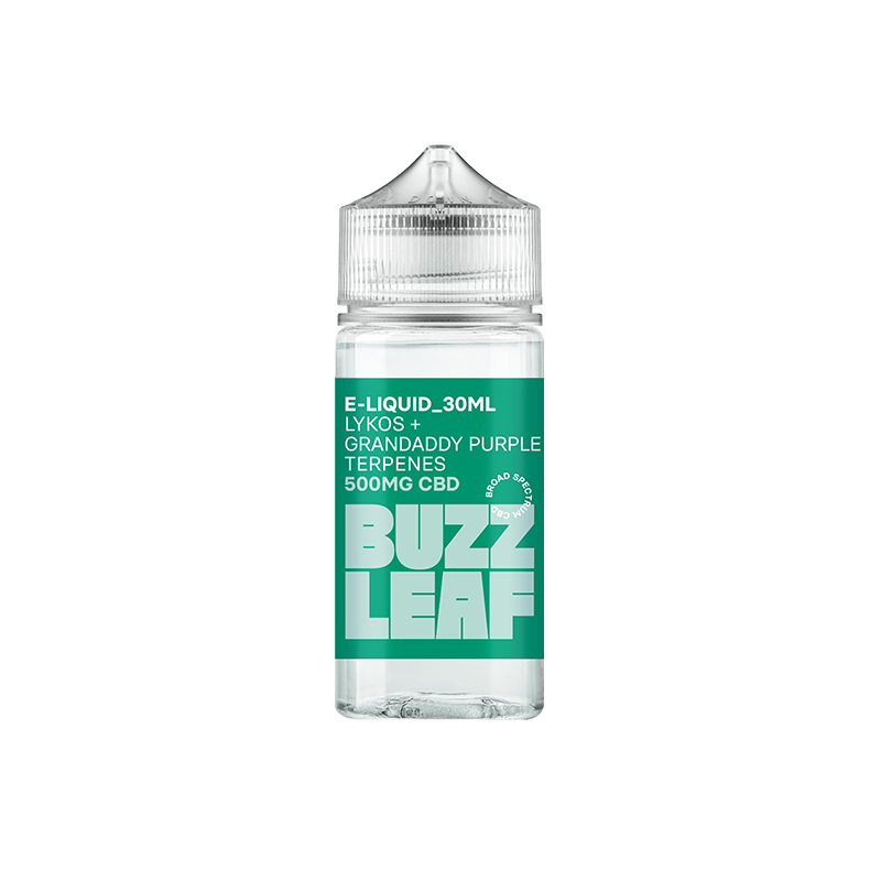Load image into Gallery viewer, Buzz Leaf® 500mg CBD e-Liquid – 30ml