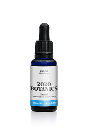 2020 Botanics® 500mg CBD Oil Liquid Drops - 30ml
