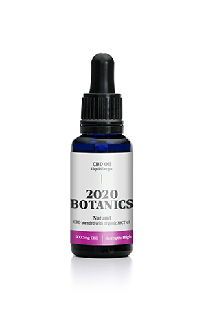 2020 Botanics® 5000mg CBD Oil Liquid Drops - 30ml