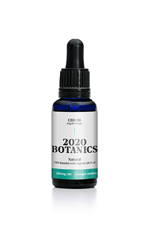 2020 Botanics® 1500mg CBD Oil Liquid Drops - 30ml