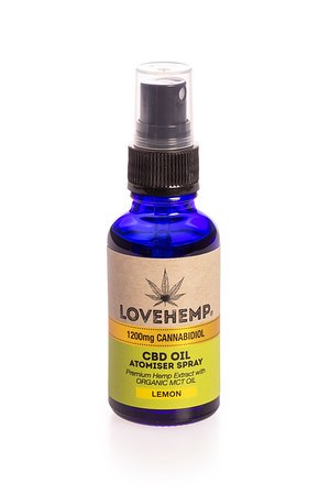 Load image into Gallery viewer, Love Hemp® 1200mg CBD Oil Spray - 30ml
