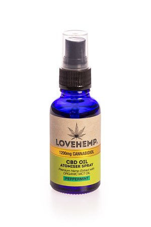Love Hemp® 1200mg CBD Oil Spray - 30ml