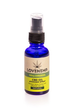 Love Hemp® 400mg CBD Oil Spray - 30ml