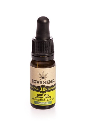 Love Hemp® 1,000mg 10% CBD Oil - 10ml