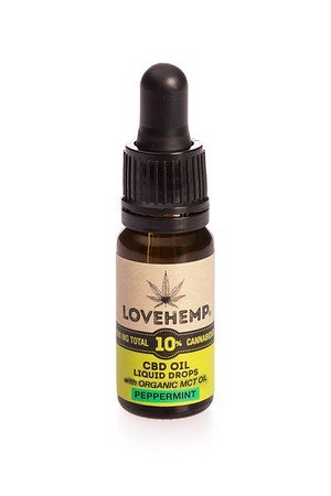 Load image into Gallery viewer, Love Hemp® 1,000mg 10% CBD Oil - 10ml