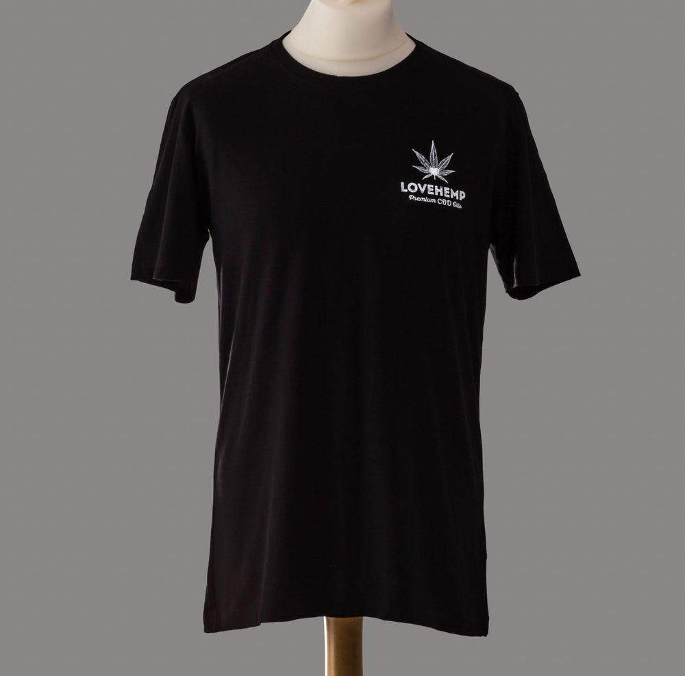 Load image into Gallery viewer, Love Hemp® Black Exclusive T-shirt