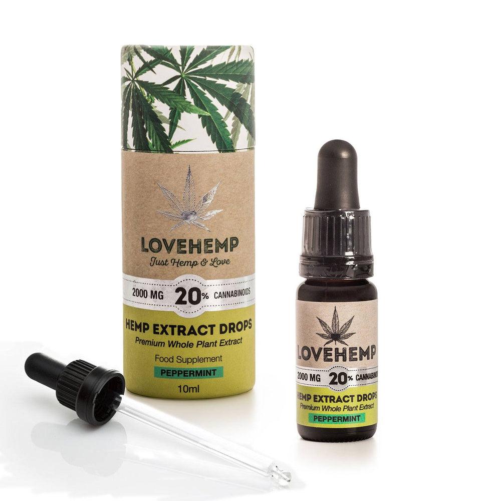 Love Hemp® 2000mg 20% CBD Oil - 10ml