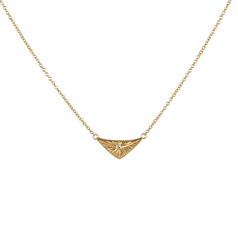 Gold Flash Necklace