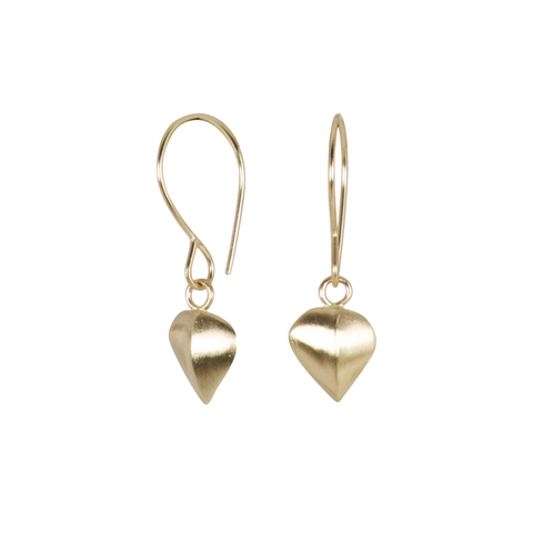 Gold Aspen Dangle Earrings by Corey Egan