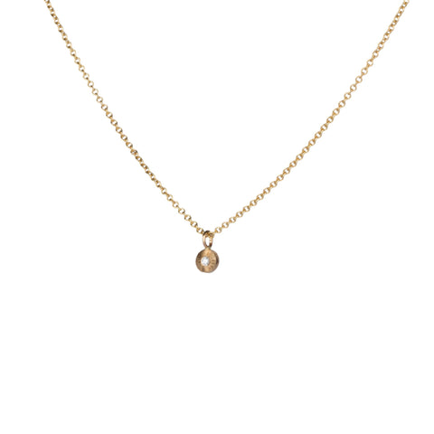 Gold and Diamond Rise Necklace by Corey Egan