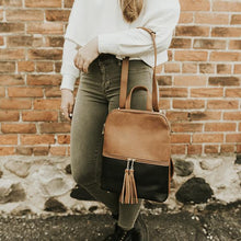 Load image into Gallery viewer, Scarlett Black & Camel Bag