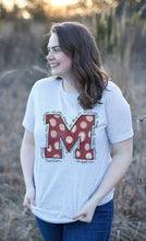 "Load image into Gallery viewer, Maroon ""M"" Tee"