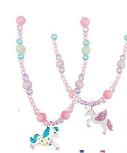 Dancing Unicorn Necklace