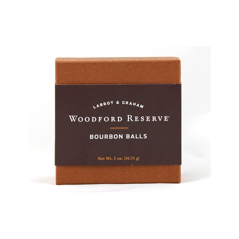 Woodford Bourbon Balls 4 Piece Box