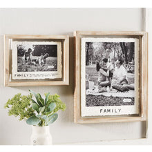 Load image into Gallery viewer, 8x10 Family Glass Frame
