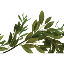 Load image into Gallery viewer, Faux Olive & Bay Leaf Garland