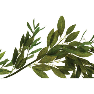 Faux Olive & Bay Leaf Garland