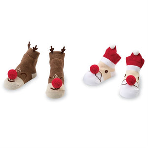 Christmas Rattle Socks