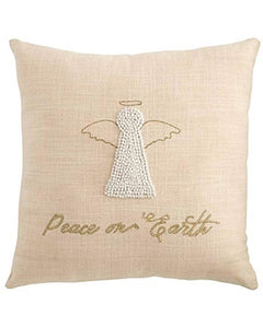 Angel French Knot Pillow