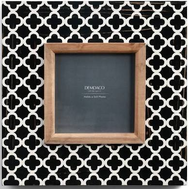 Black & White Geometric Frame