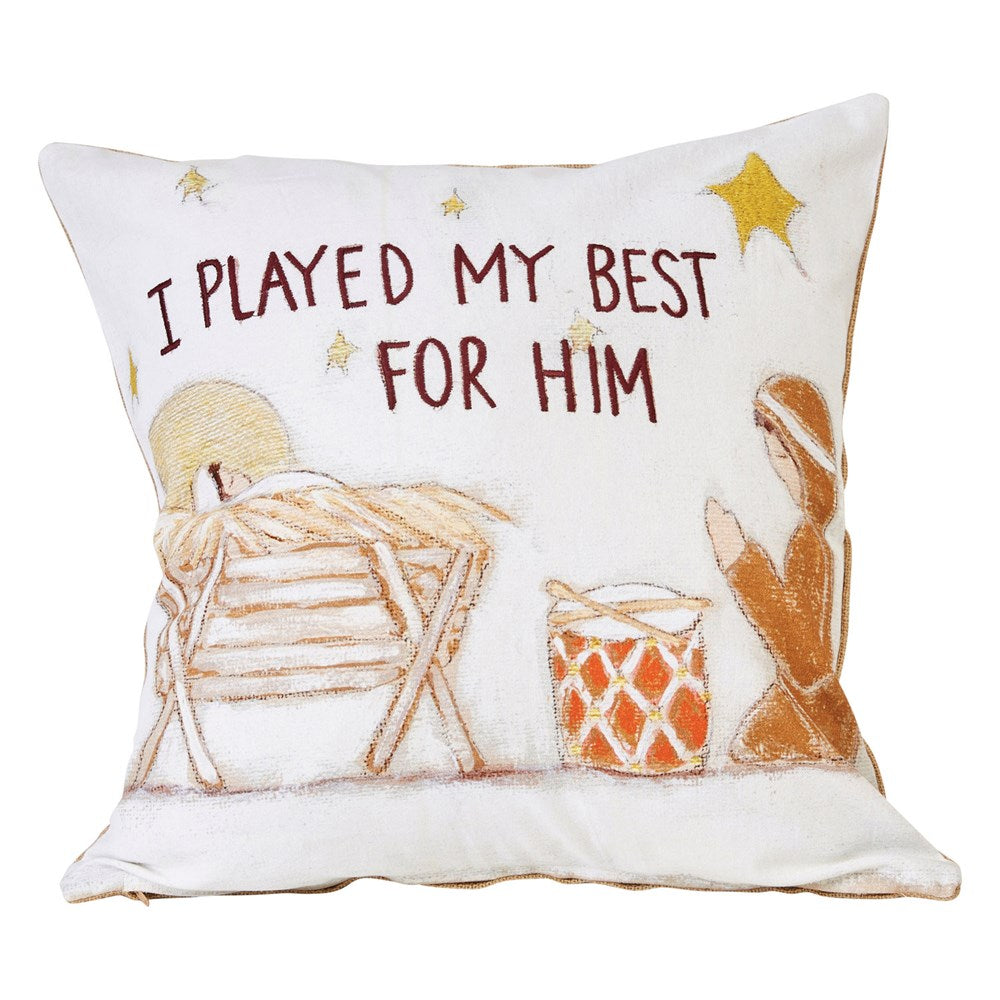I Played For Him Pillow