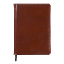 Load image into Gallery viewer, Brown Leather Bonded Journal