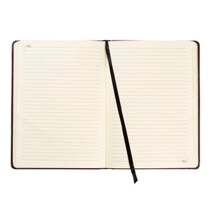 Brown Leather Bonded Journal