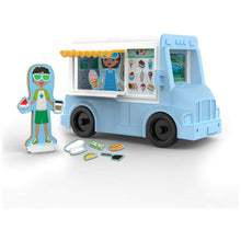 Load image into Gallery viewer, Food Truck Magnetivity Play Set
