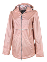 Load image into Gallery viewer, Rose Gold Rain-Jacket