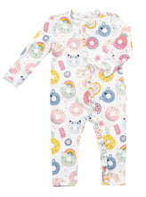 Load image into Gallery viewer, Donut Smiles Zipped Romper