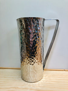 Hammered Flat Pitcher