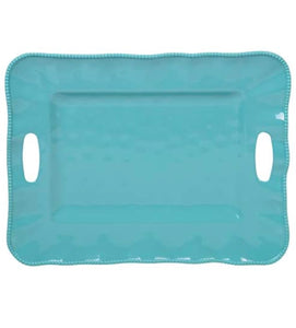 Large Melamine Tray with Handles