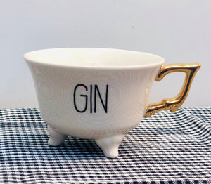 Fun Cocktail Tea Cup